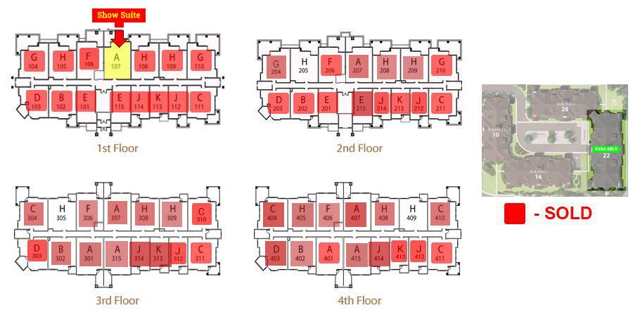 Stonecroft Floor Plans